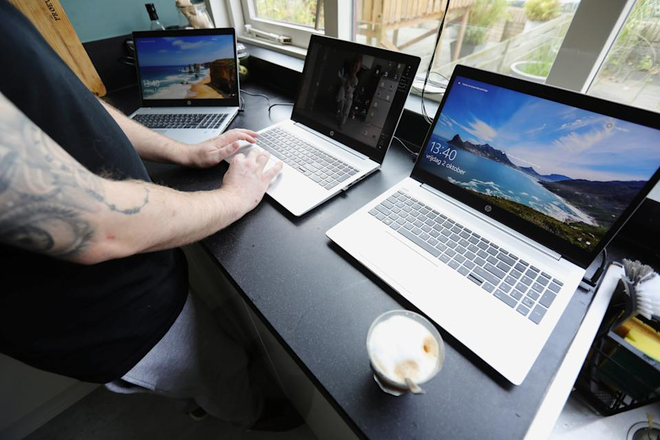 AO World has seen demand grow as more people work from home.
