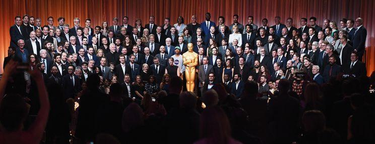 Oscar nominees at the 89th Annual Academy Awards Nominee Luncheon