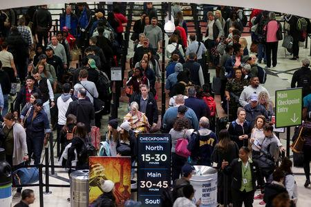 TSA screener sick-outs hit 10 percent over holiday weekend | AP business