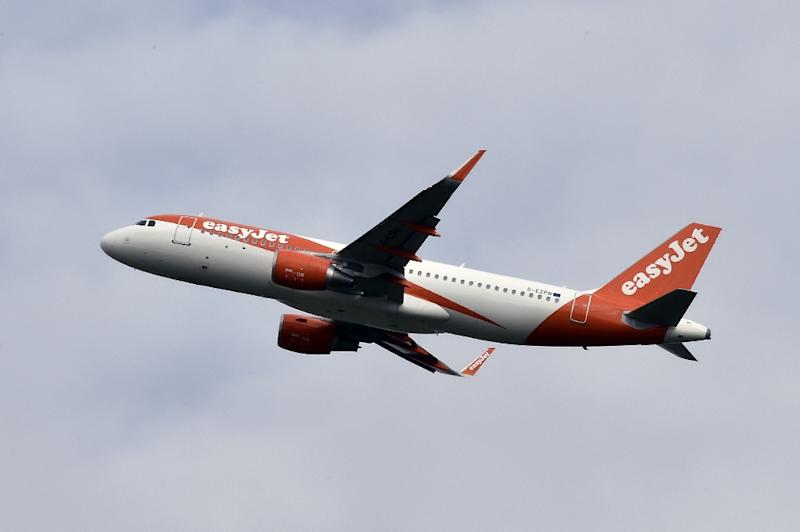 No-frills airline easyJet is taking off from Britain and setting up a Vienna-based division in response to Brexit (AFP Photo/PASCAL PAVANI)