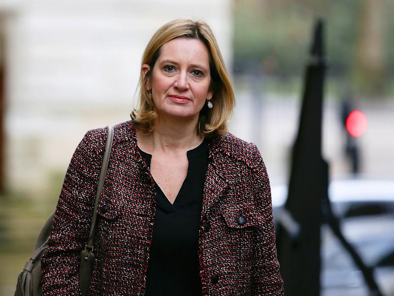 The Home Secretary said she would like to see the industry going 'further and faster in not only removing online terrorist content but stopping it going up in the first place': Getty Images