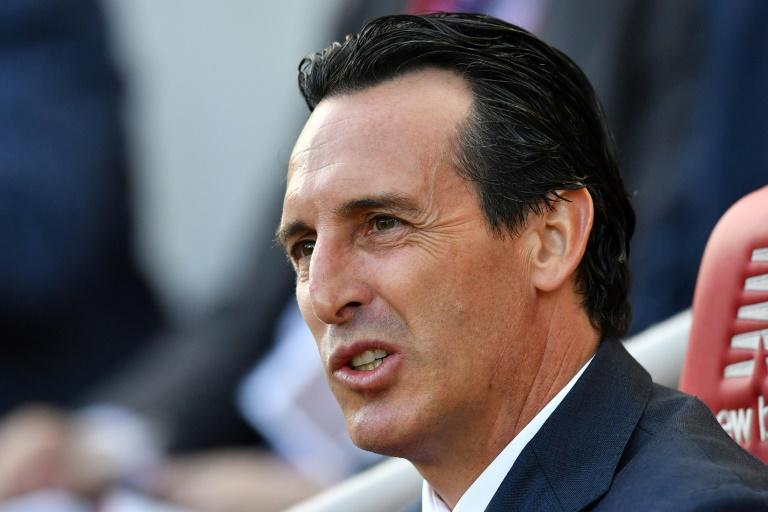 Time for answers: Arsenal manager Unai Emery needs to show signs of progress quickly (AFP Photo/Ben STANSALL)