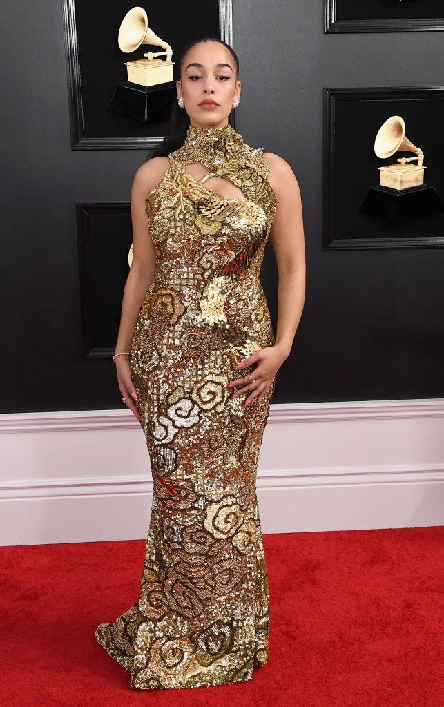 <p>Jorja Smith attends the 61st annual Grammy Awards at Staples Center on Feb. 10, 2019, in Los Angeles. </p>