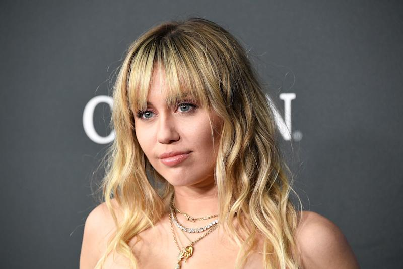 Miley Cyrus is slamming a writer who gave her new music a bad review. (Photo: Steve Granitz/WireImage)