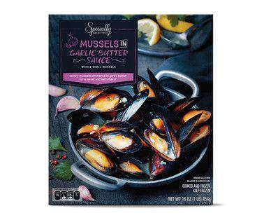 <p>Mussels aren't something you think you can ever have without shelling out (pun <em>in</em><em>tended</em>, actually) at a restaurant—and certainly not <em>good</em> mussels. That's why Specially Selected Mussels are one of Aldi shoppers' best-loved finds. They make turning your kitchen into a fancy little bistro so simple. Just remember to have some crusty bread handy, because you'll want to soak up every last drop of that sauce.</p>