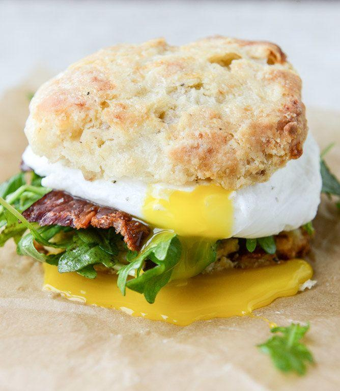 "<strong>Get the <a href=""http://www.howsweeteats.com/2015/04/havarti-breakfast-biscuits-with-jalapeno-bacon-and-arugula/"" target=""_blank"">Havarti Breakfast Biscuits With Jalapeno Bacon and Arugula recipe</a>&nbsp;from&nbsp;How Sweet It Is</strong>"