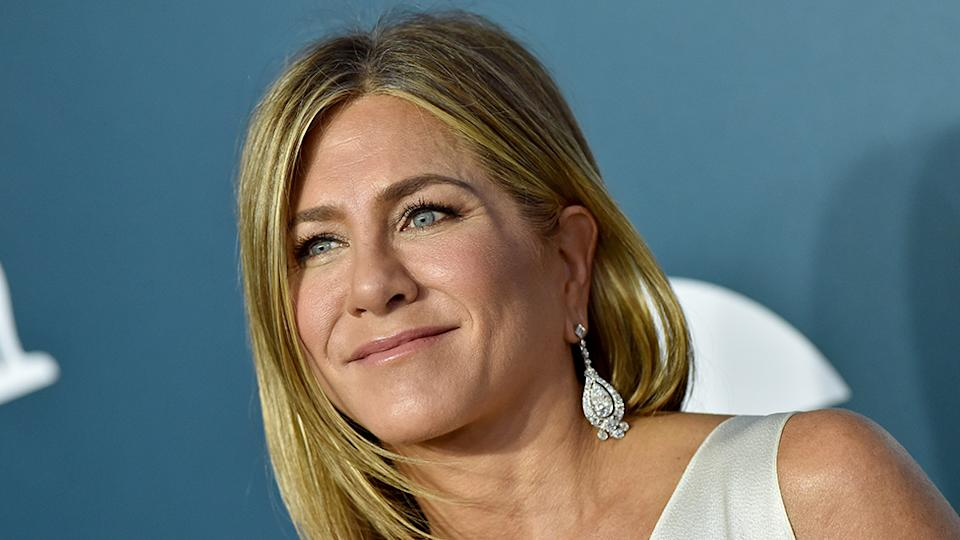 Jennifer Aniston has introduced the latest member of her family to the world: a puppy named Lord Chesterfield. Photo: Getty