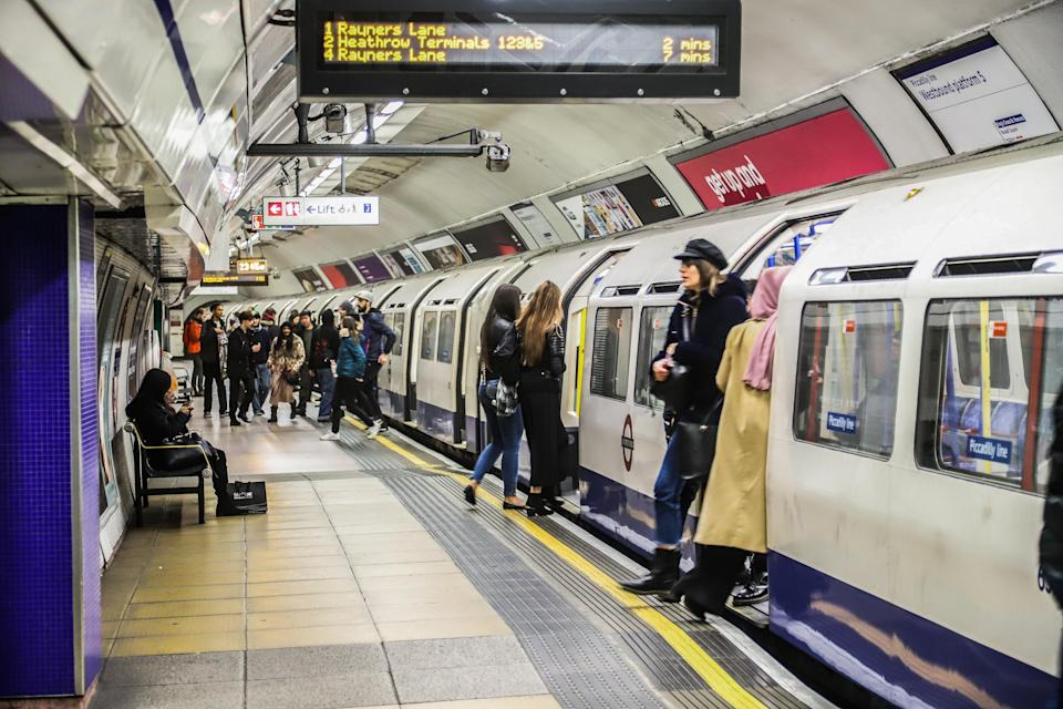 Tube trains are regularly delayed because staff have to clean 'soiled' carriages. [Photo: Getty]