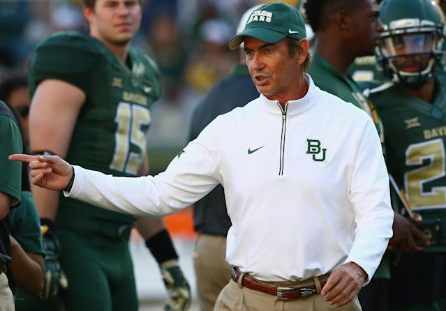 Art Briles was fired from Baylor in May. (Getty Images)