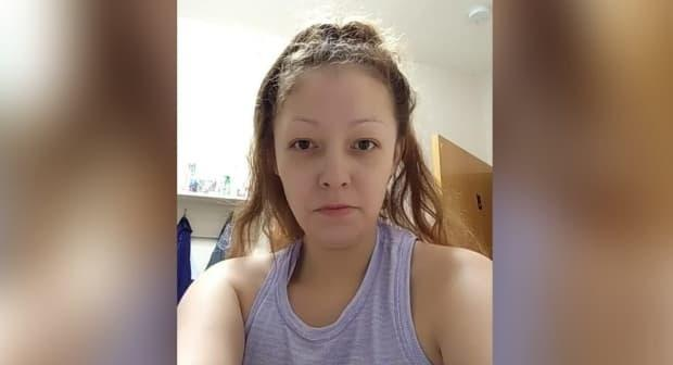 Tasheena Sutherland was last seen leaving Beardy's First Nation in a white car on Friday at 2:30 p.m. CST, RCMP said. (Submitted by Saskatchewan RCMP - image credit)