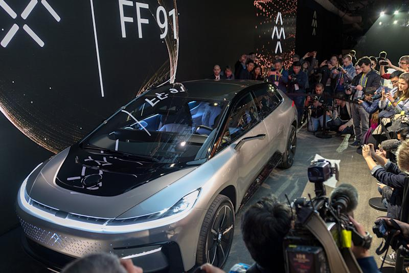Faraday Future Ff Ridiculousness Ces