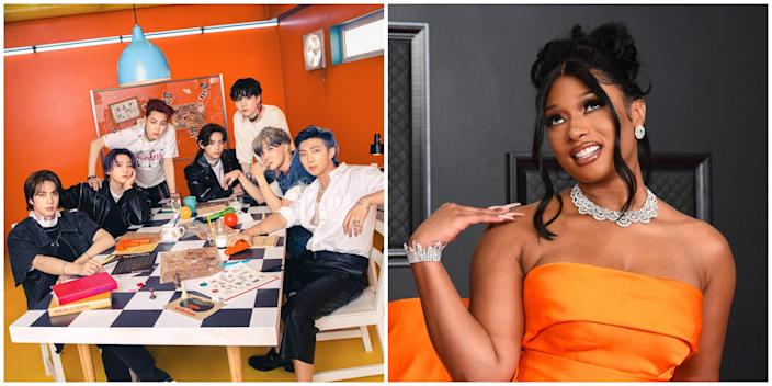 """BTS & Megan Thee Stallion Unite for """"Butter"""" Remix After Label Controversy"""