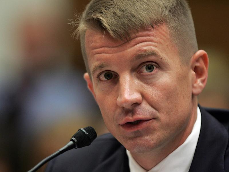 File photo of Erik Prince, founder of the notorious Blackwater security group: TIM SLOAN/AFP/Getty Images