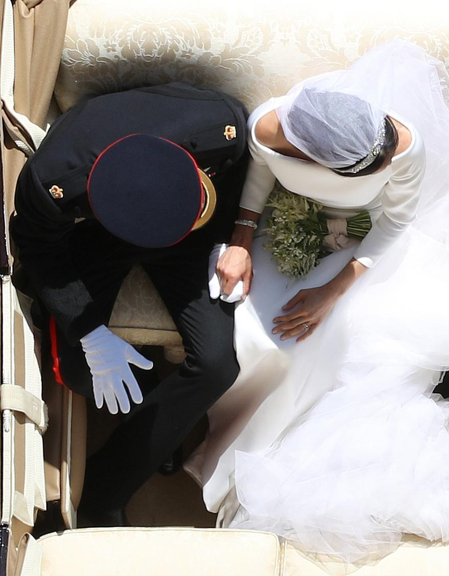 Yui Mok captured this photo of Prince Harry and Meghan Markle. (Photo: Getty Images)