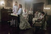 <p>Sofia Coppola's bewitching chamber piece is deceptively simple, a drama about an isolated boarding school in the Civil War-era South (the headmistress is played by Nicole Kidman), where the all-female residents' lives are upended by the arrival of a wounded soldier (a fabulous, sneaky Colin Farrell). The film's Southern Gothic story is threaded with a subversive feminist narrative about how women secretly build their own worlds apart from men, and how easily male violence can threaten those protected spaces. It's a sumptuous, elegant film with a deadly bite. <em>— G.W. </em>(Photo: Everett Collection) </p>