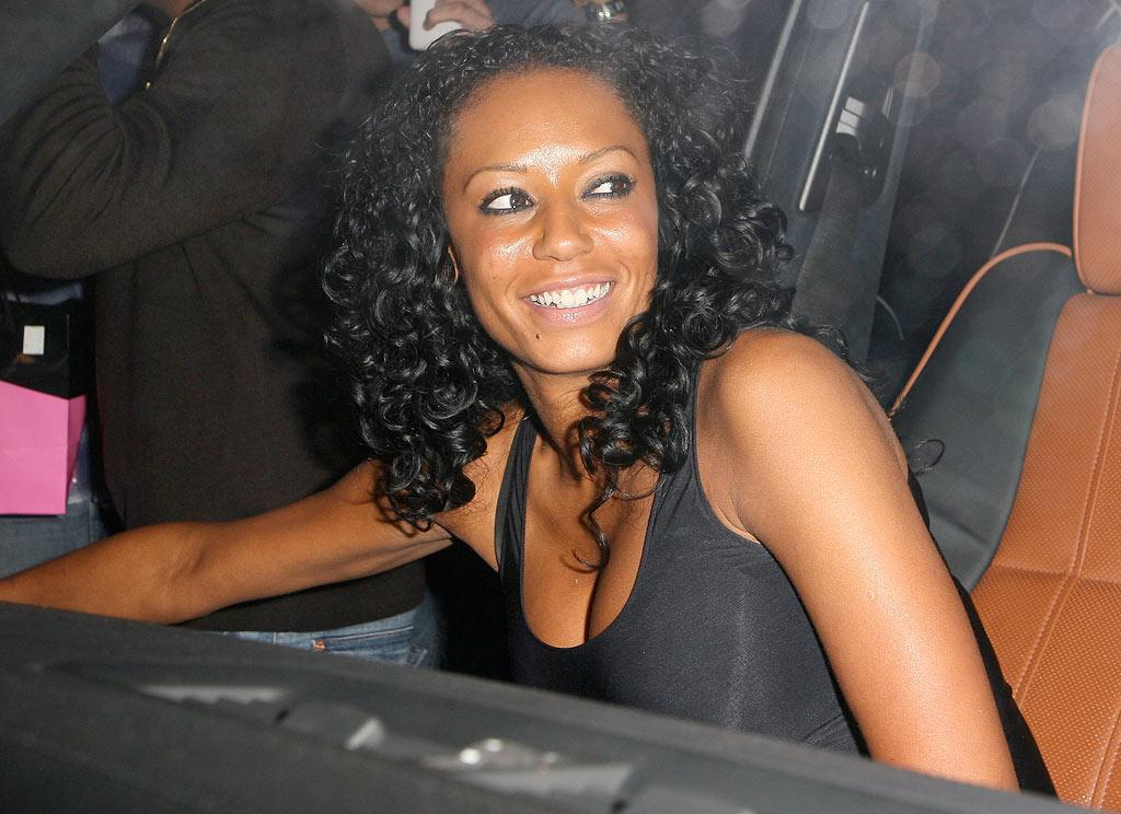 "Scary Spice was all smiles as she hopped into her car and headed home with her main squeeze. ICE/<a href=""http://www.x17online.com"" target=""new"">X17 Online</a> - August 3, 2009"
