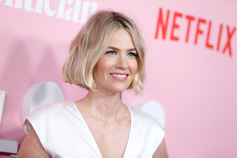 January Jones at Netflix premiere