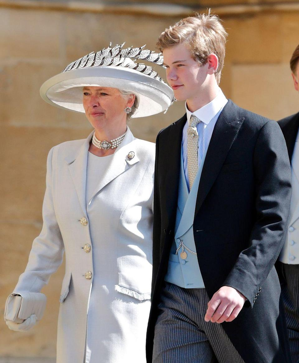 <p>Tom attended Prince Harry and Megan Markle's wedding at St George's Chapel back in 2018. Although he was ten years older than at William and Kate's wedding, he still had his signature cheeky grin and looked extremely dapper.</p>