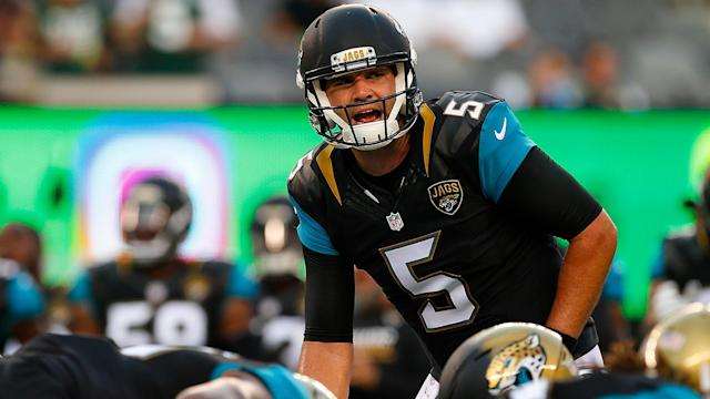Why not give Blake Bortles his last (perhaps only) chance to succeed in Jacksonville?