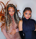 """""""Color is such a great way to give your box braids or faux locs a fresh look,"""" says hairstylist Cristiana Cassell, who teamed up with hairstylist <a href=""""https://www.instagram.com/sparkyourhair/"""" rel=""""nofollow noopener"""" target=""""_blank"""" data-ylk=""""slk:Sparkle"""" class=""""link rapid-noclick-resp"""">Sparkle</a>, to create Chloe Bailey's warm, highlighted locs. The neutral tones are perfect for fall but can easily be rocked in the winter months."""