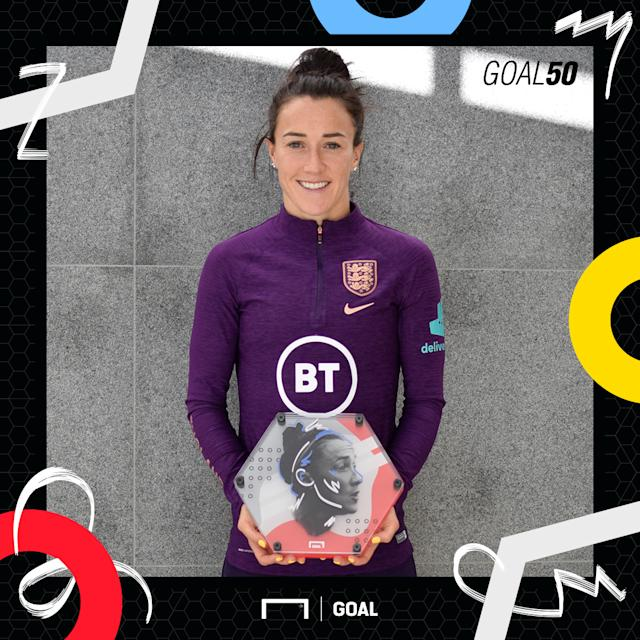 Lucy Bronze Goal 50 square