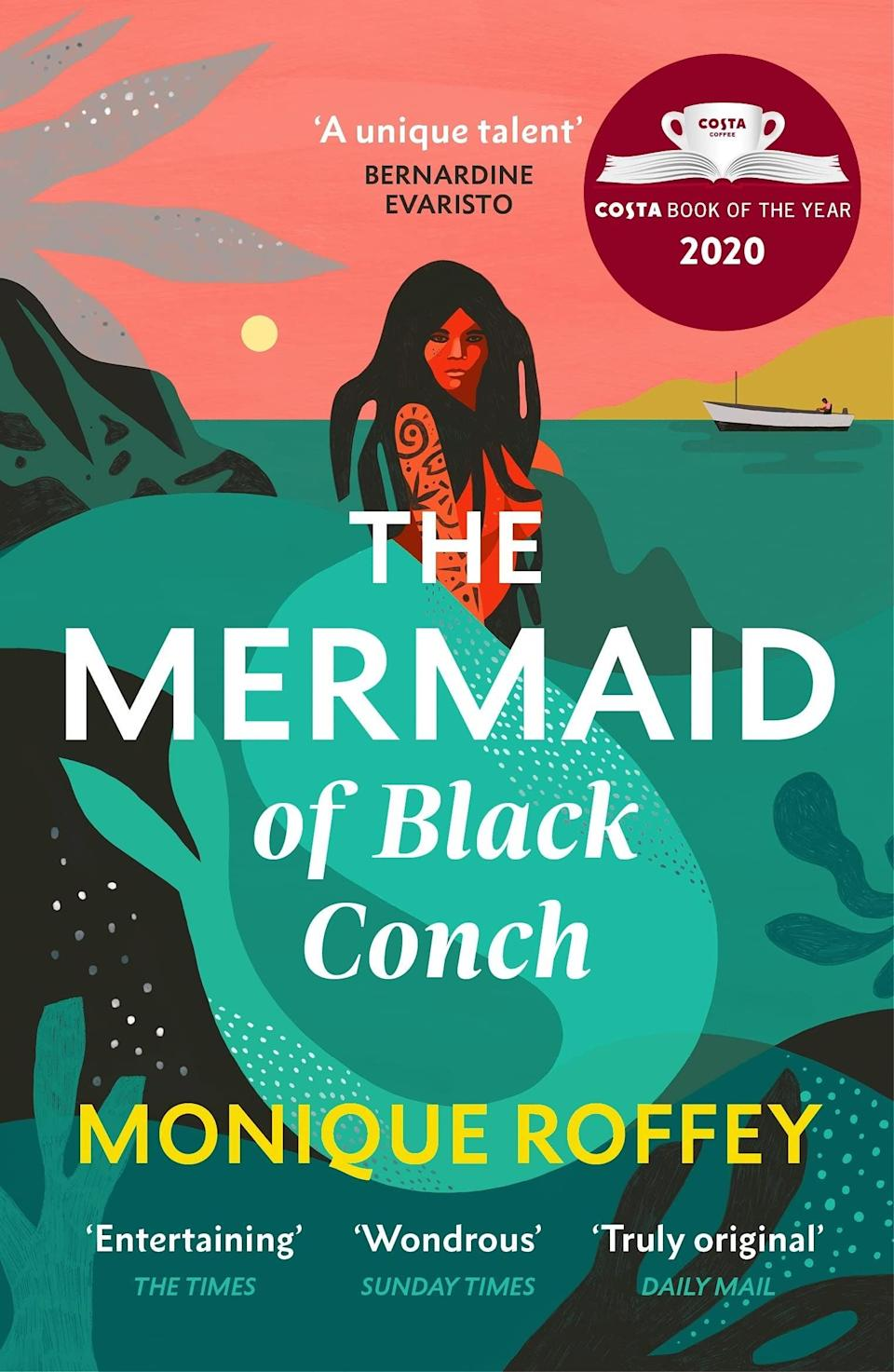 """At a time when our summer plans mostly involve things close to home, this story set on an imaginary Caribbean island is the perfect escapist read. <br><br>Set in 1976, the story takes place in a tiny village on the isle of Black Conch. David, a fisherman sits singing on the shore but his heavenly singing voice attracts the attention of someone he never expected. Bubbling up from the ocean's surface comes Aycayia, a young woman cursed by jealous wives to live as a mermaid forever. Having swum the local seas for many years, Aycayia and David begin an unlikely friendship. For those in search of a modern-day <em>Splash</em>, this story of man-meets-mermaid ticks all the right boxes.<br><br><strong>Monique Roffey</strong> The Mermaid of Black Conch, $, available at <a href=""""https://www.amazon.co.uk/Mermaid-Black-Conch-Winner-Costa/dp/1529115493/ref=sr_1_1_sspa?"""" rel=""""nofollow noopener"""" target=""""_blank"""" data-ylk=""""slk:Amazon"""" class=""""link rapid-noclick-resp"""">Amazon</a>"""