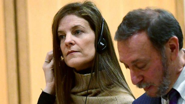 PHOTO: Michelle Troconis, charged with conspiracy to commit murder in the disappearance of Jennifer Dulos, appears for a pre-trial hearing on Feb. 6, 2020, at the Stamford Superior Court in Stamford, Conn. (Erik Trautmann/Hearst Connecticut Media via AP, Pool)