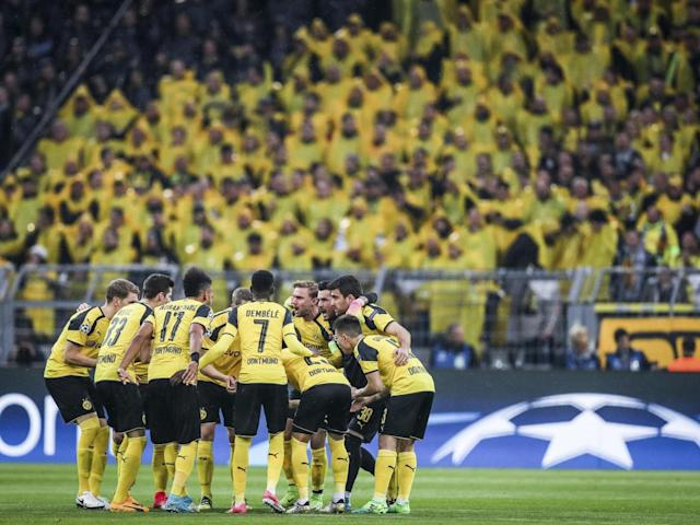 Dortmund fell to Monaco, losing the first-leg 3-2 (Getty)