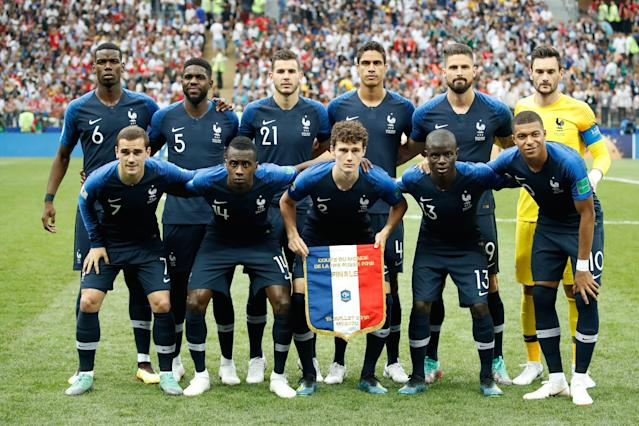 More than half of France's starting 11 in the 2018 World Cup final were first- or latter-generation immigrants. (Getty)