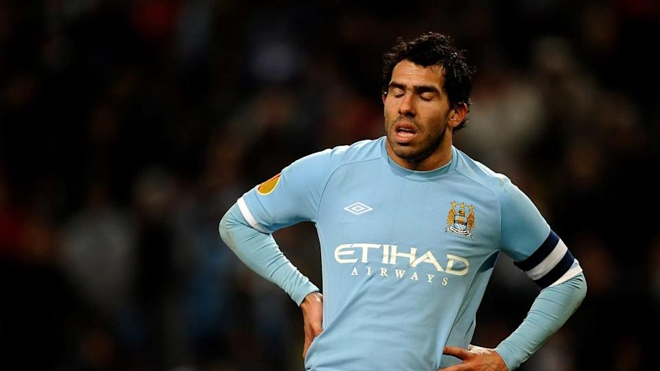 Carlos Tevez | Laurence Griffiths/Getty Images
