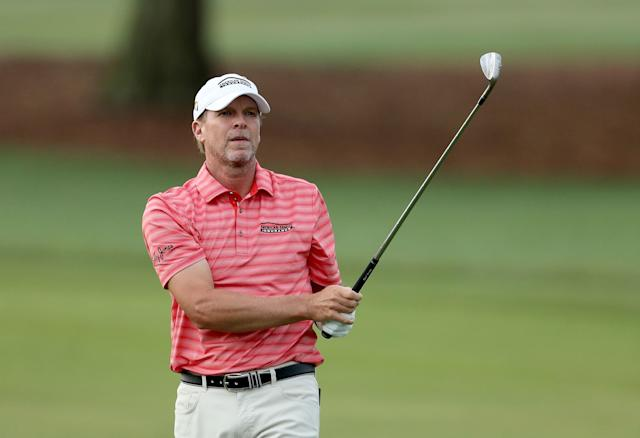 Steve Stricker wins Regions Tradition by six, the first major championship win of his career