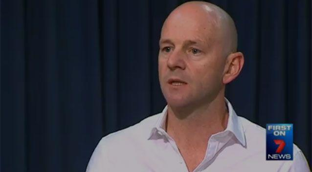 Water Minister Niall Blair says Sydney Water needs to 'work with the community' to find a solution. Photo: 7 News
