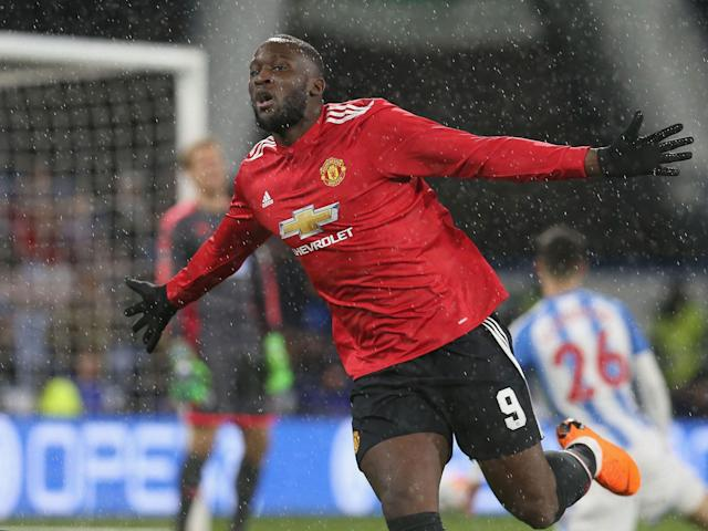 Romelu Lukaku double sinks Huddersfield to fire Manchester United into FA Cup quarter-finals