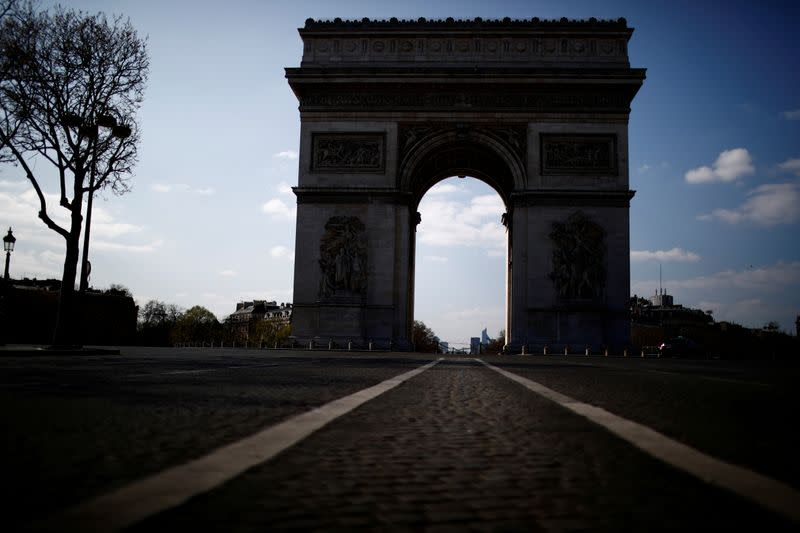 FILE PHOTO: Coronavirus disease (COVID-19) outbreak in Paris
