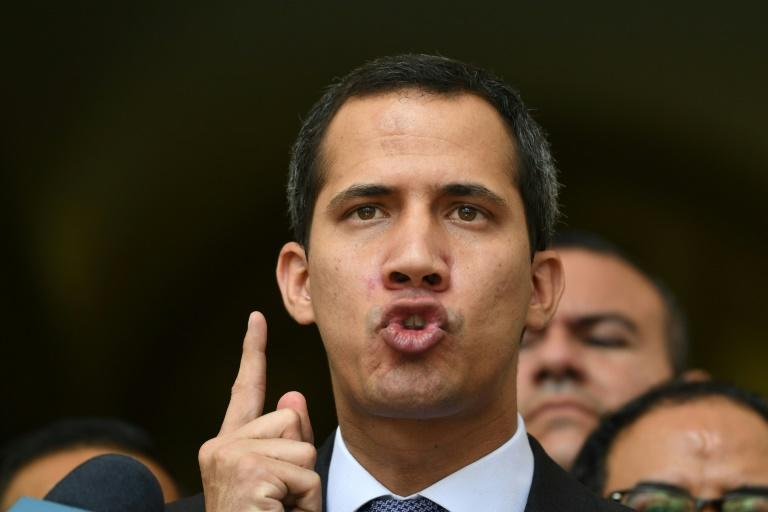 Venezuelan opposition leader Juan Guaido, who is recognized as president by the United States, will benefit from a diversion of US funds initially intended for Guatemala and Honduras