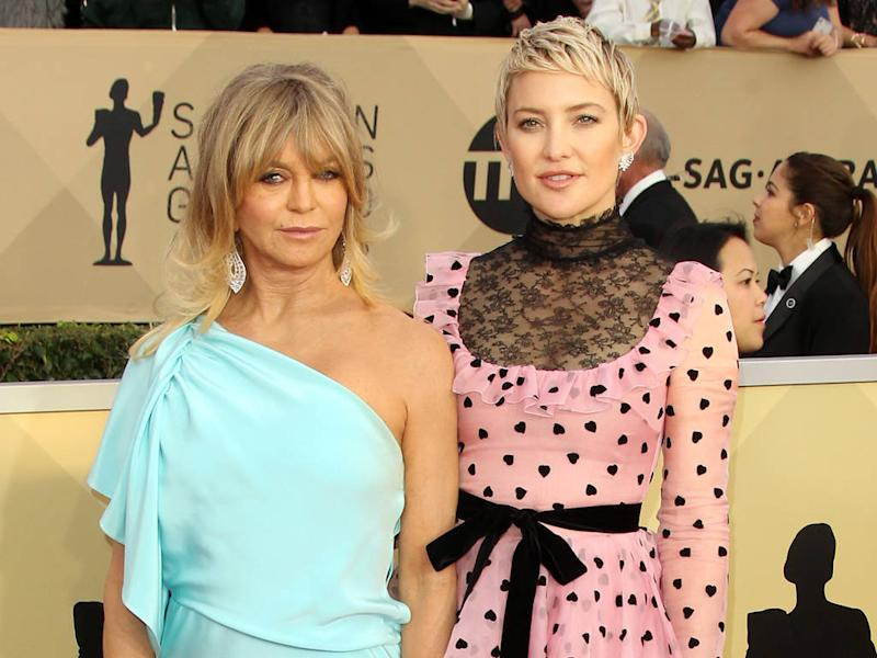 Goldie Hawn let Kate Hudson experiment with fashion growing up