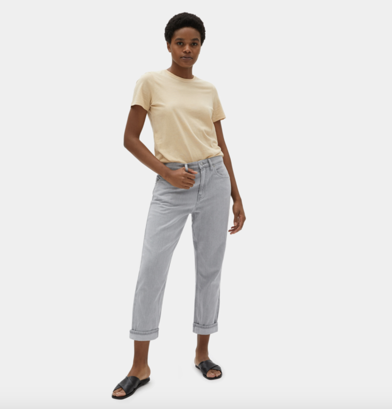 The Super-Soft Straight Leg Jean in Ash