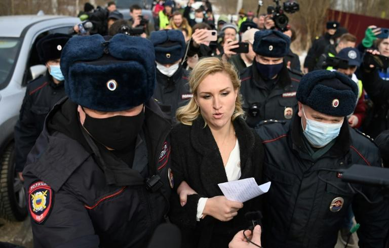 Police detained Alexi Navalny's personal doctor Anastasia Vasilyeva at the entrance to the penal colony where the Kremlin critic is being held
