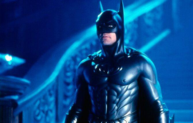 George Clooney en 'Batman & Robin' (©Warner Bros Pictures.)