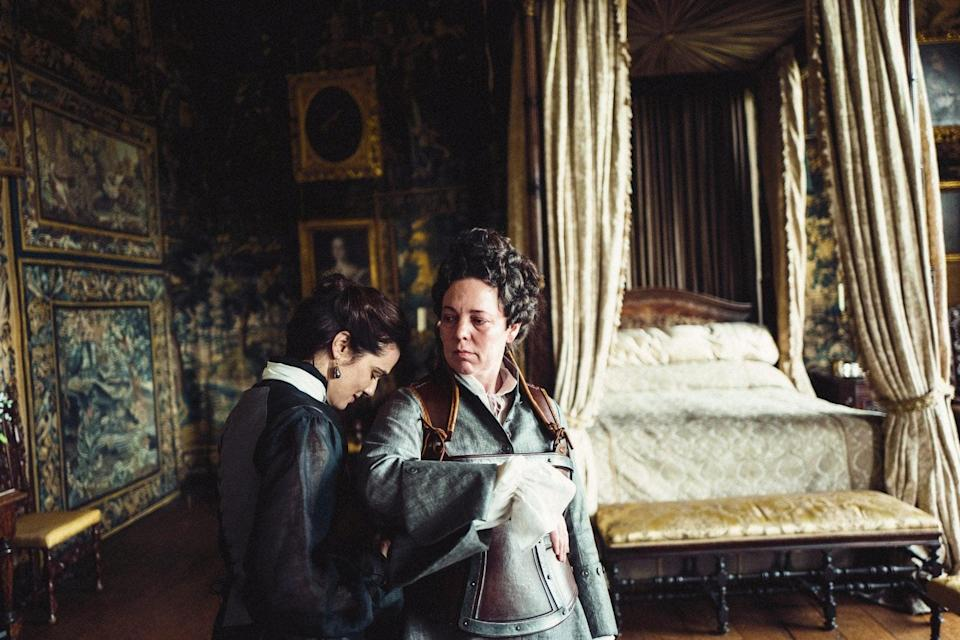 Rachel Weisz and Olivia Colman in The FavouriteAP