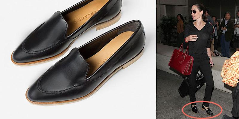 23b7acb87b1 Angelina Jolie s Favorite Travel Shoes Are Shockingly Comfortable