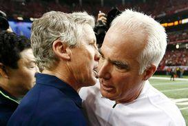 Pete Carroll and Mike Smith