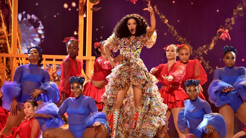 Cardi B Had the Best Night at the 2018 AMAs -- See Her Most Viral Moments!
