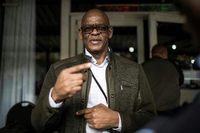 Elias Magashule has ignored demands to step down