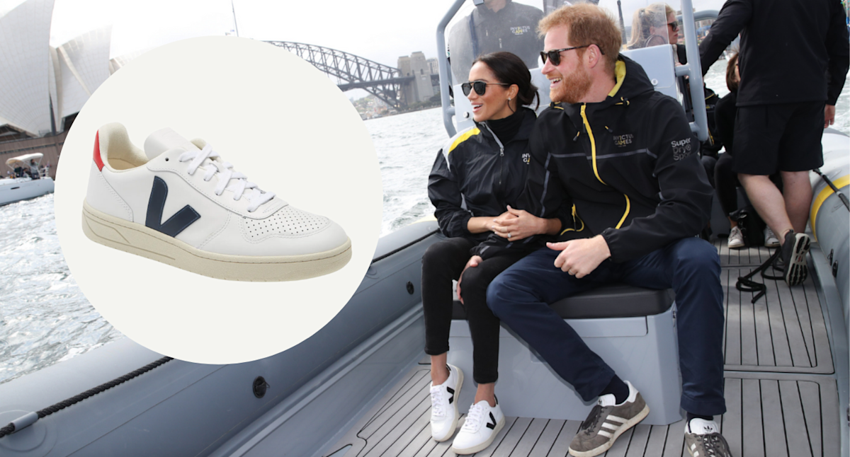 Meghan Markle's Veja sneakers are a must-have for fall — and we're surprised they're not sold out