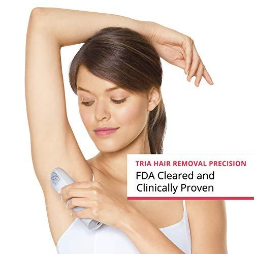 Tria Beauty Precision Hair Removal Laser for Women and Men - At Home Device for Permanent Results on Face and Body - FDA cleared - Dove (Amazon / Amazon)