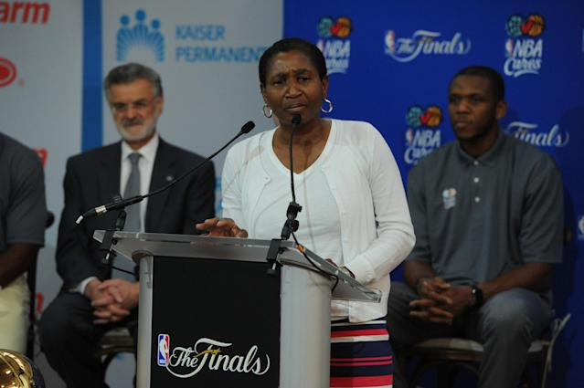 NBPA executive director Michele Roberts (Getty)