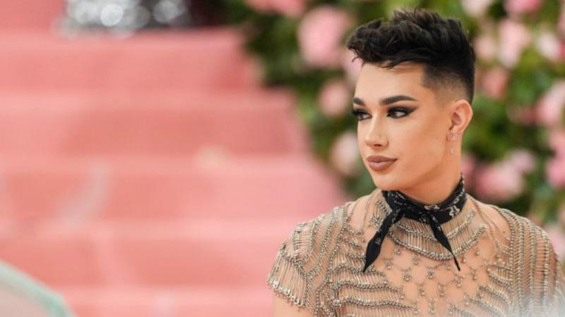 James Charles has released a nude photo to his four million Twitter followers. Photos: Getty Images