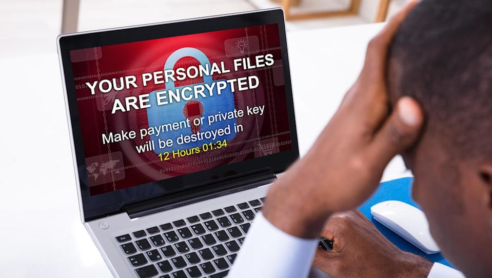 A ransomware attack can attack your laptop in an instant. Arm yourself well. (Photo: Getty)