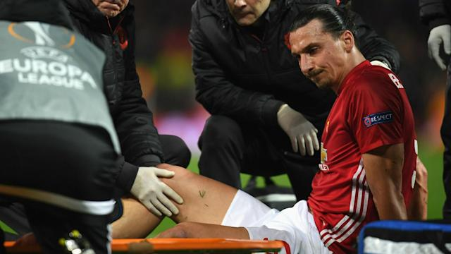 Surgery on Zlatan Ibrahimovic's knee was successful as the Manchester United star sets his sights on a return.